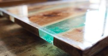 epoxy resin table