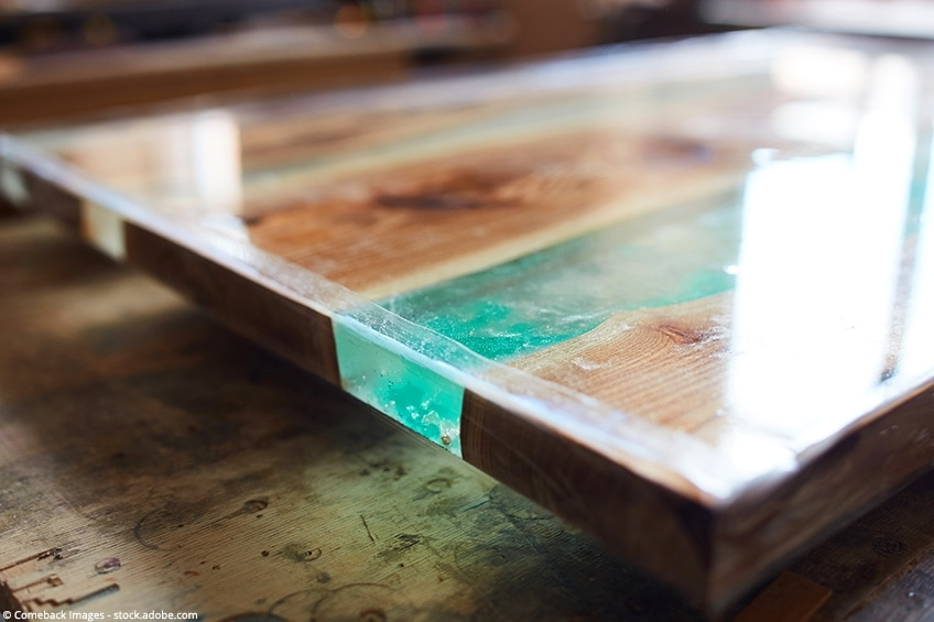 How To Make An Epoxy Resin River Table With Wood Tutorial