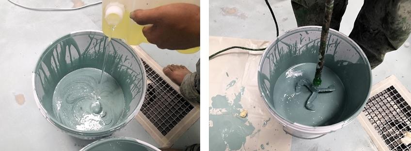 how to mix epoxy