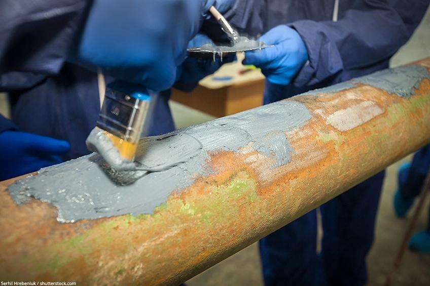 steel compound epoxy