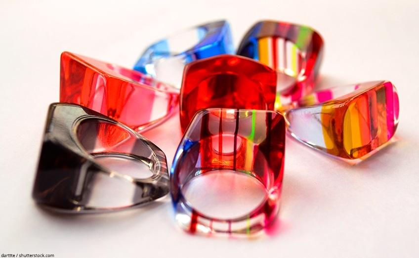 come realizzare gioielli in resina