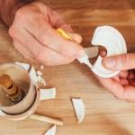 keramik kleben