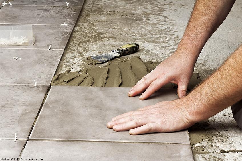 kleber für beton
