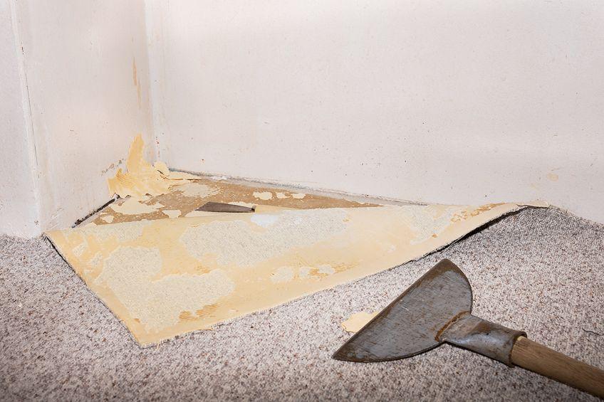 Removing Carpet Glue Instructions