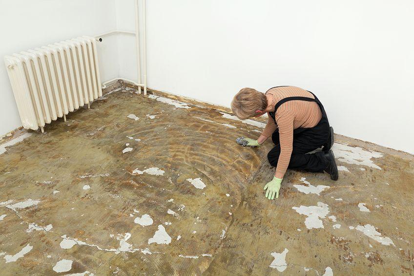 Removing Carpet Glue
