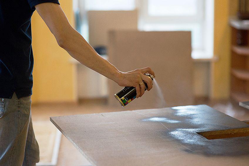Spray Paint Furniture