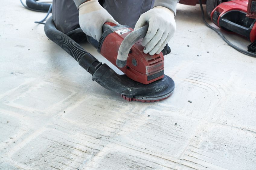 Can You Sand Concrete