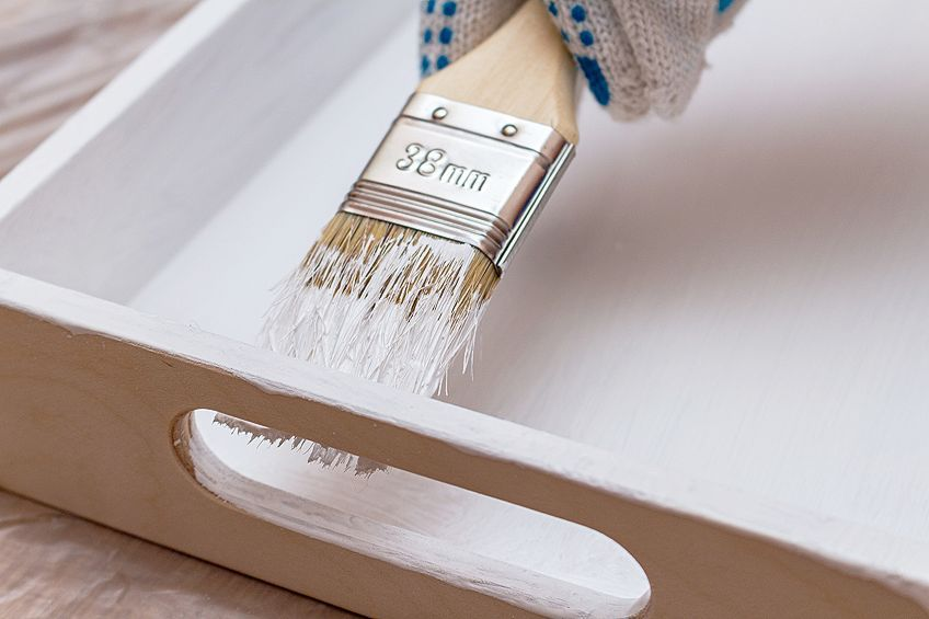 Easy Painted Plywood