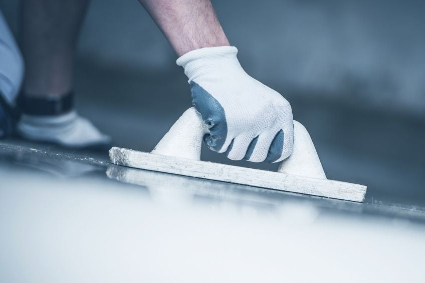 Finishing Concrete Sanding