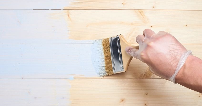 Painting Pinewood