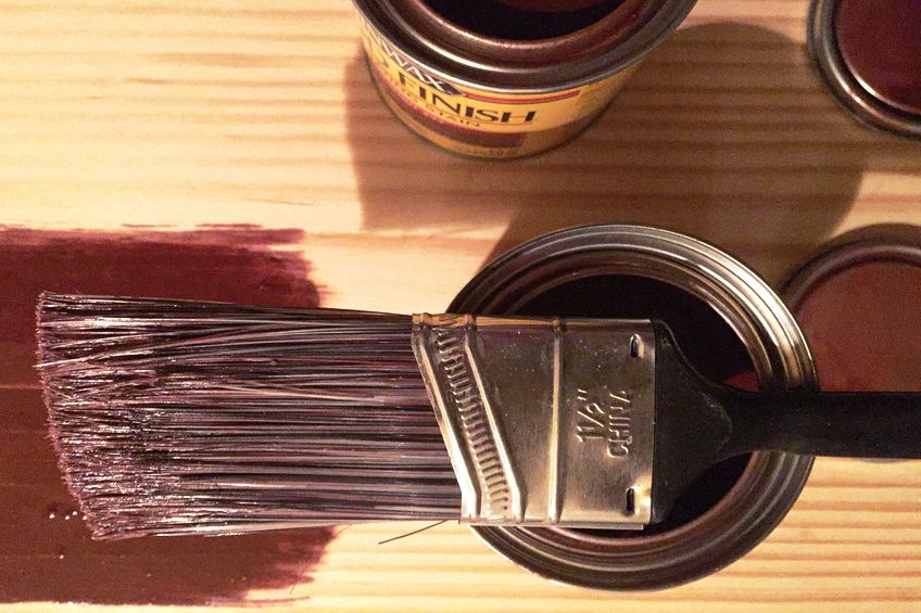 Using Gel Stain Over Stained Wood